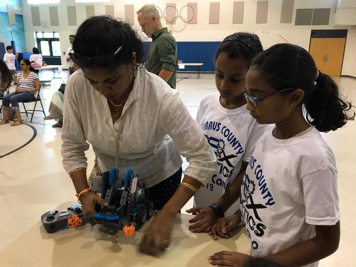 VEX Robotics summer camp