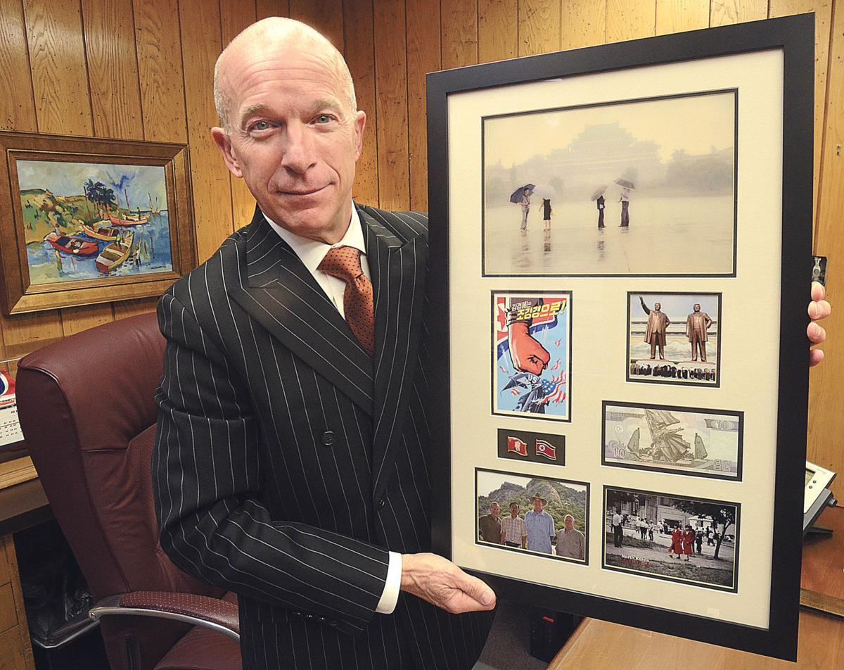 Jeff Cline in North Korea