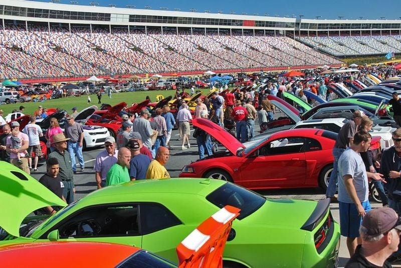 Ten things to see at autofair this week at charlotte motor for Auto fair at charlotte motor speedway