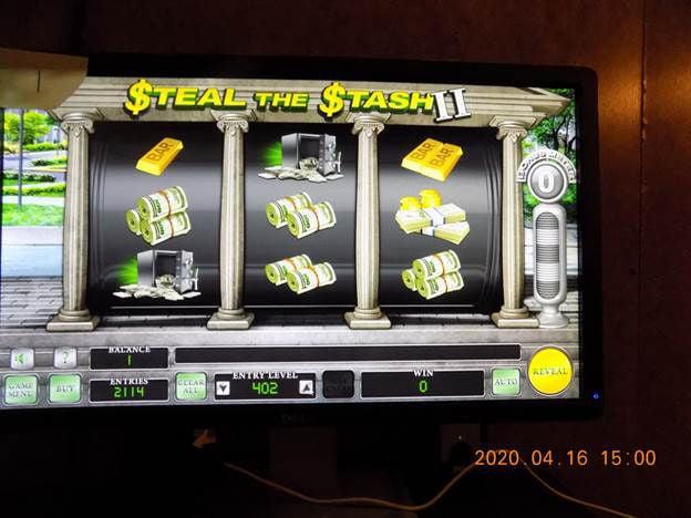 Machine found at Snack Shack