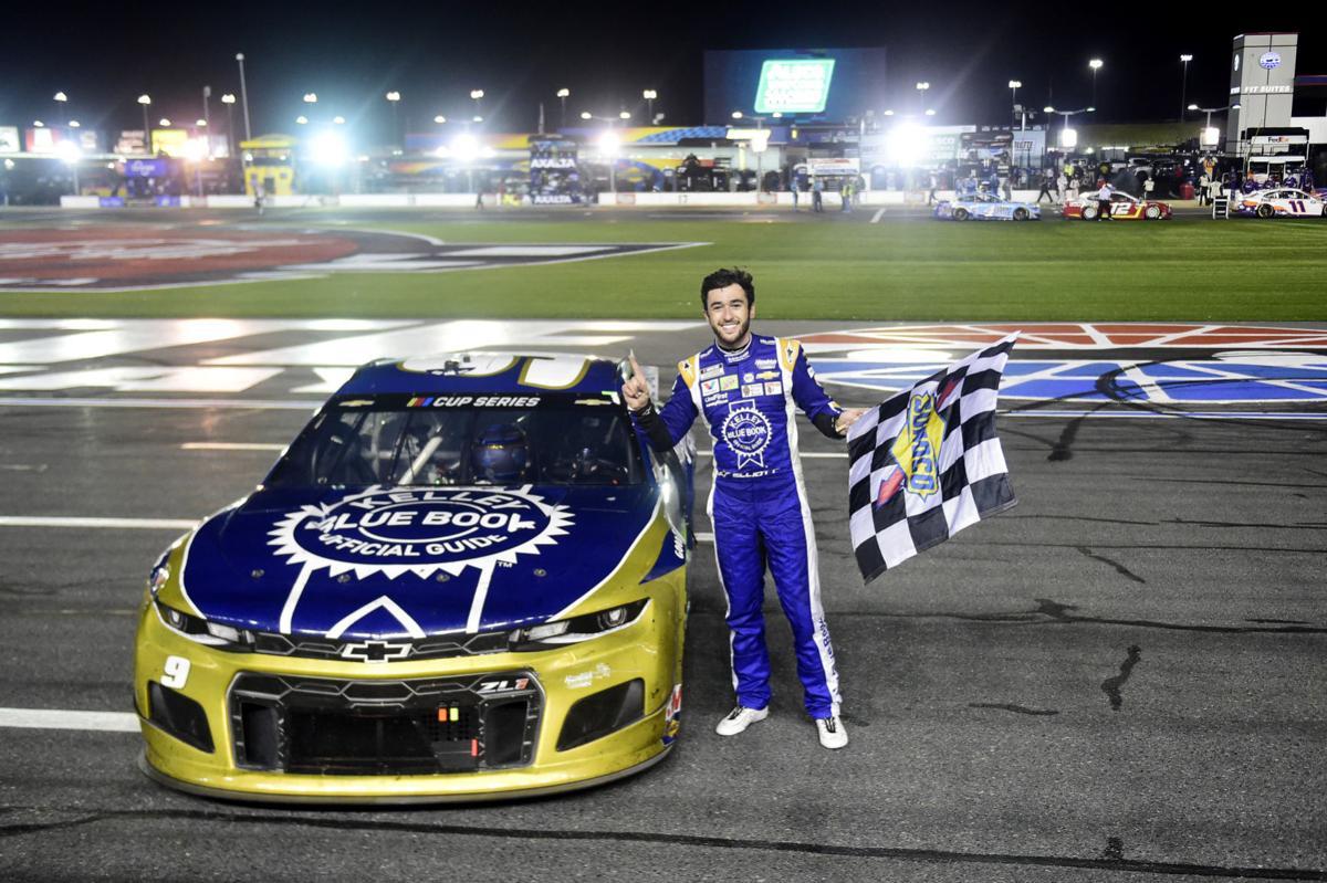 Chase Elliott wins