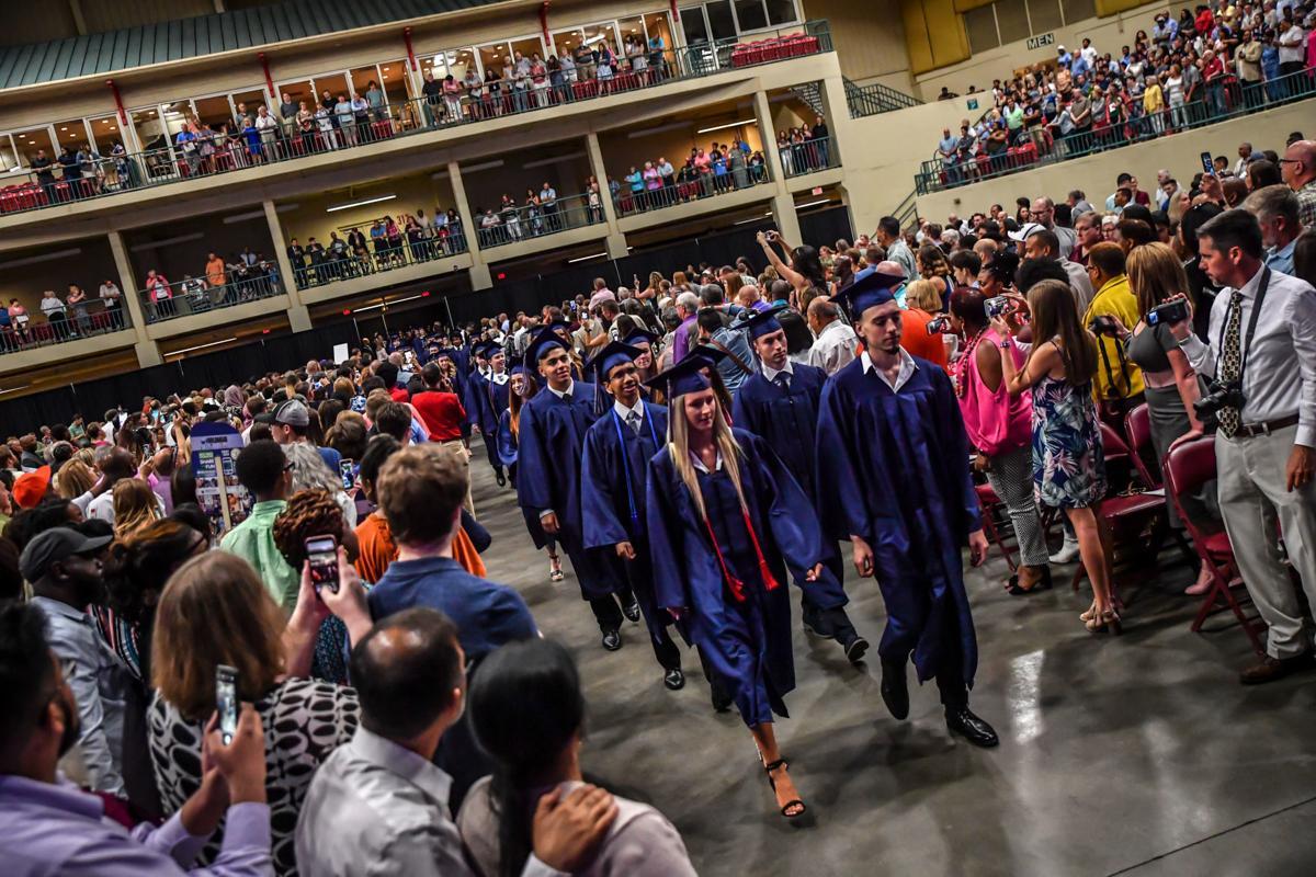 Cabarrus County Schools graduations