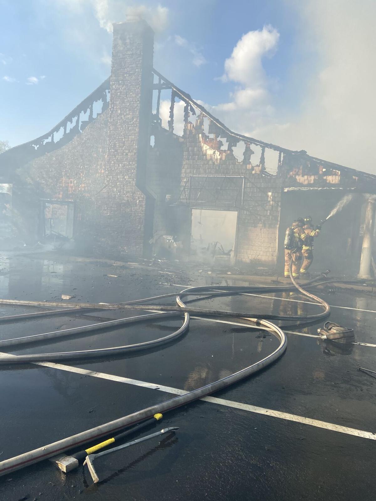 Laurel Park fire