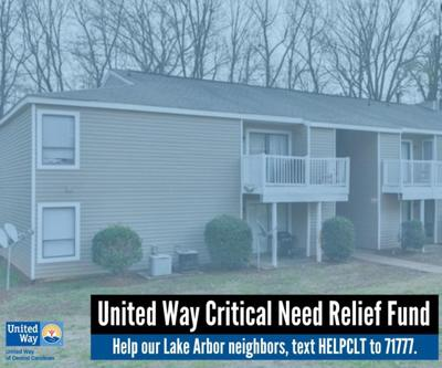 United Way collecting money for Lake Arbor apartments