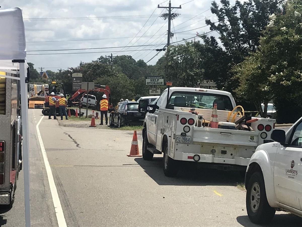 NC Hwy 49 Gas Leak