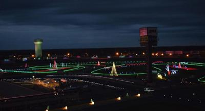 Speedway Christmas Lights.Speedway Christmas By The Numbers Millions Of Lights
