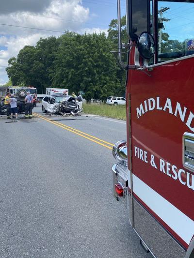 Midland crash on Hwy601