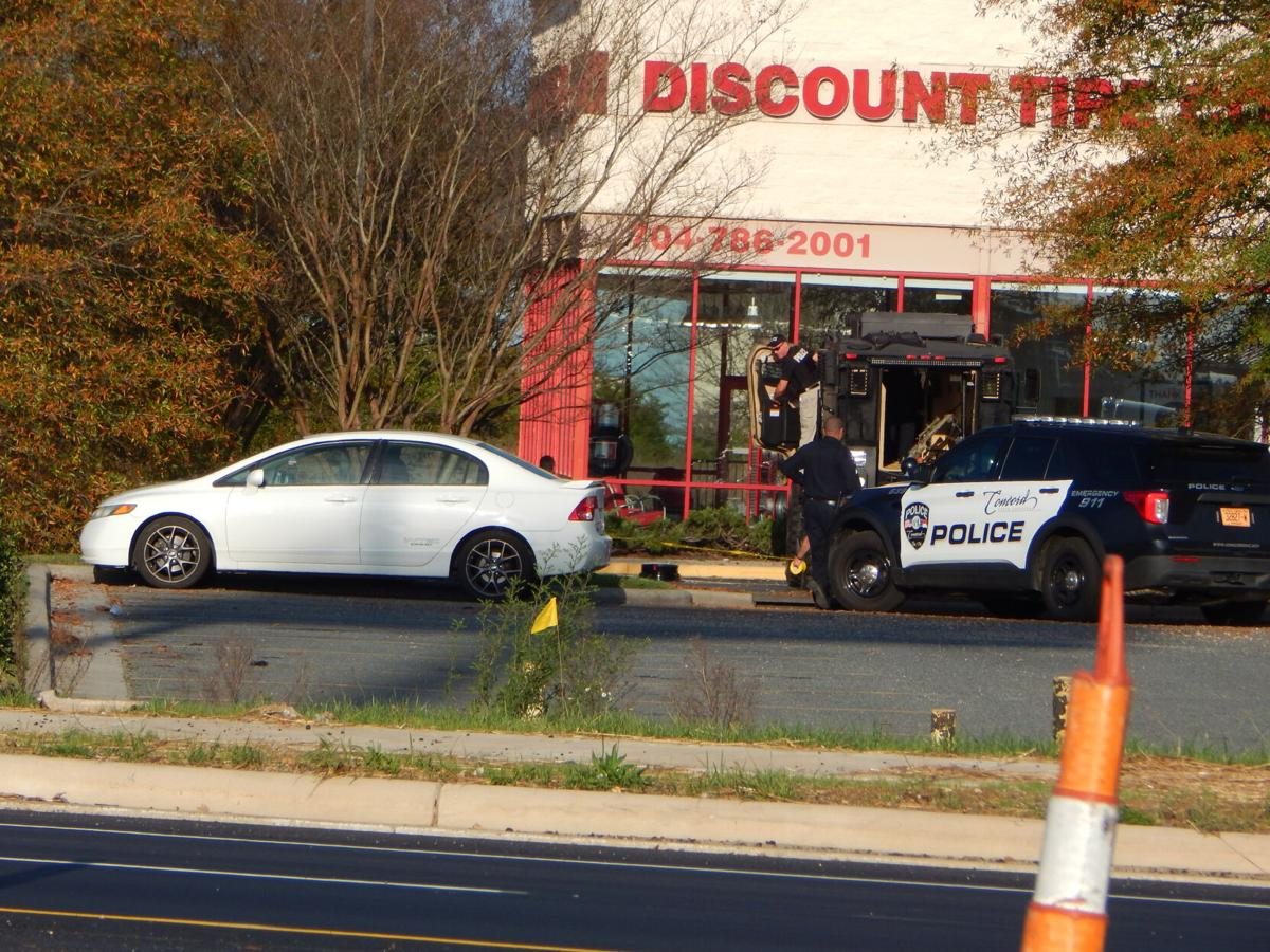 Shots Fired at Discount Tire in Concord