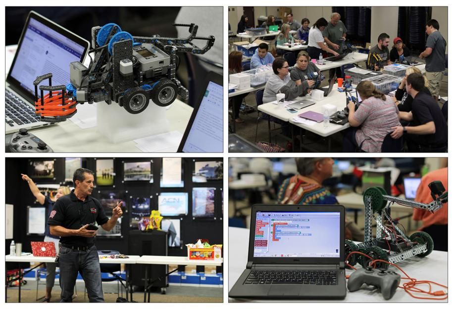 Robotic expansion: Grant allows schools to expand from 16 to 62 teams