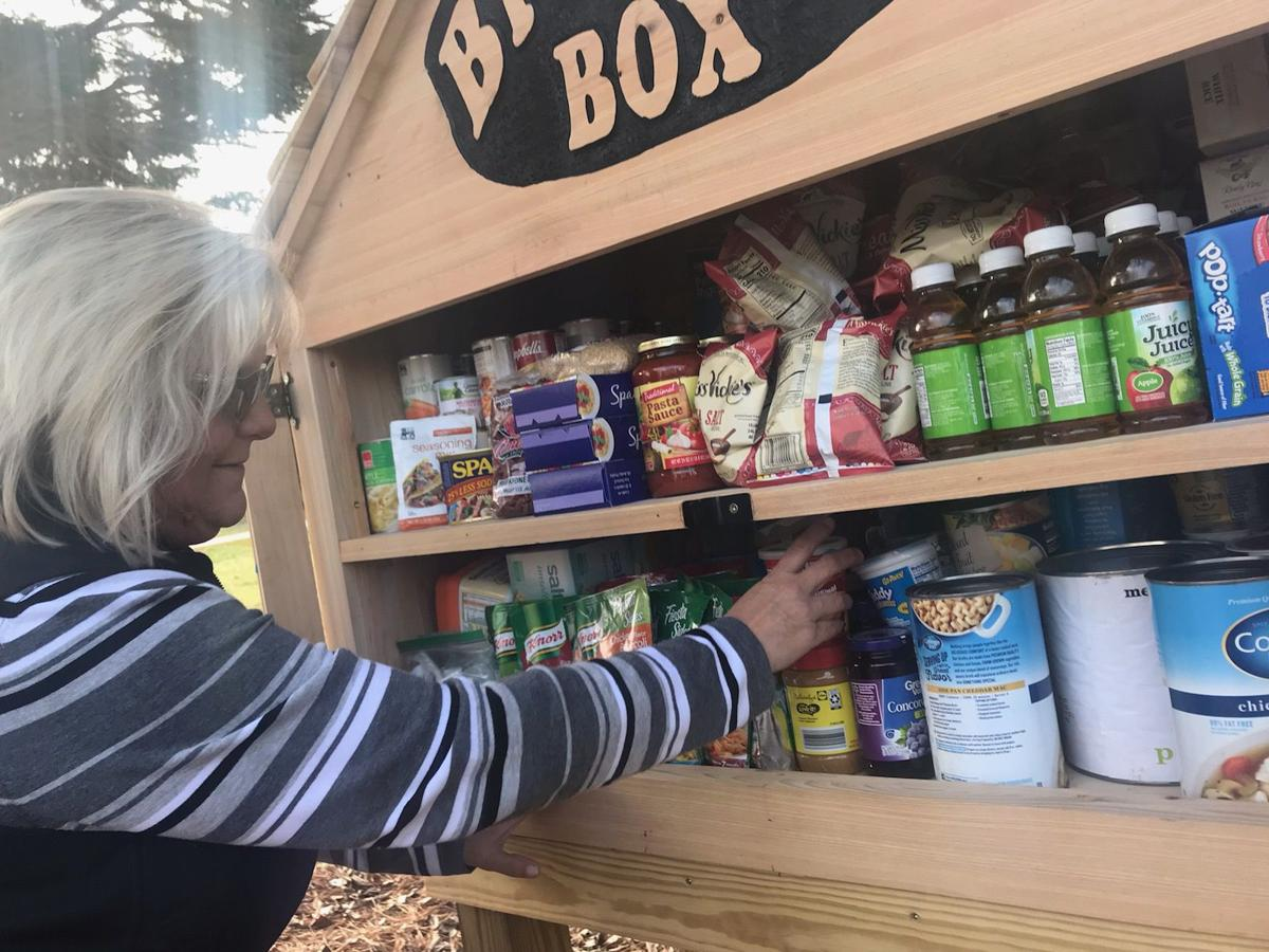 Take what you need, leave what you can: Blessing Box open at