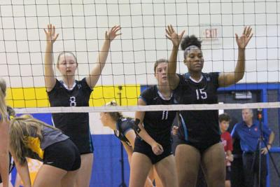 Cox Mill volleyball