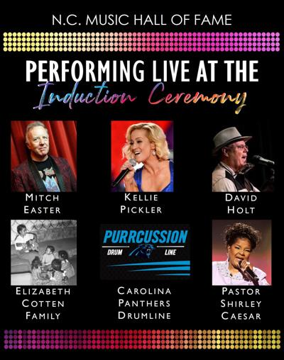 Performers announced for 2019 North Carolina Music Hall of Fame inductions