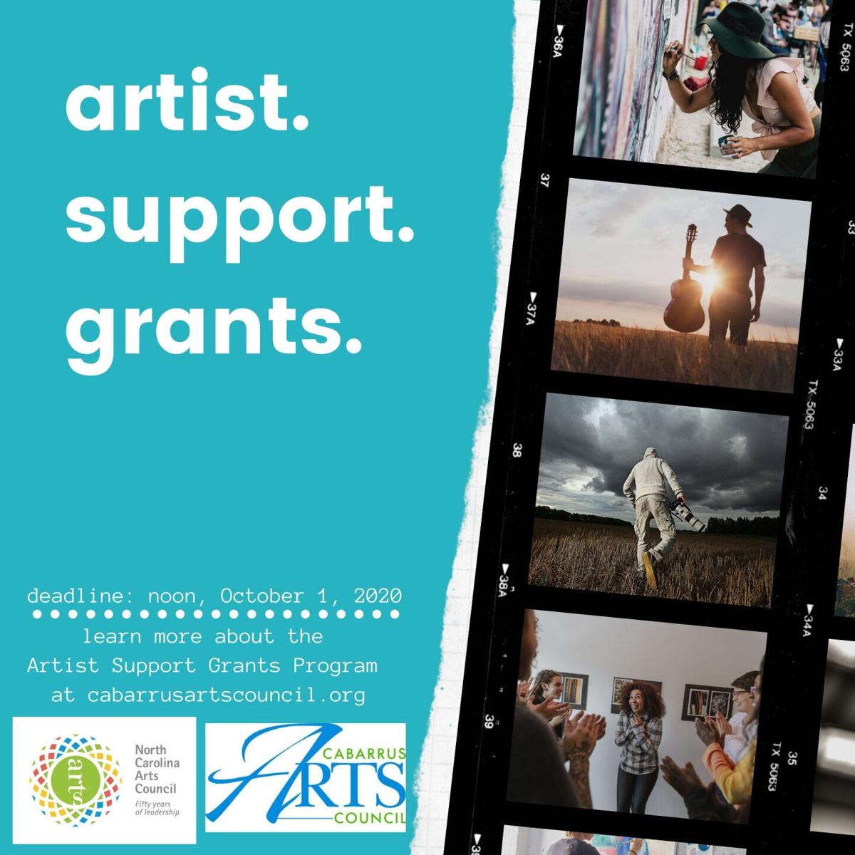Artist Support Grants
