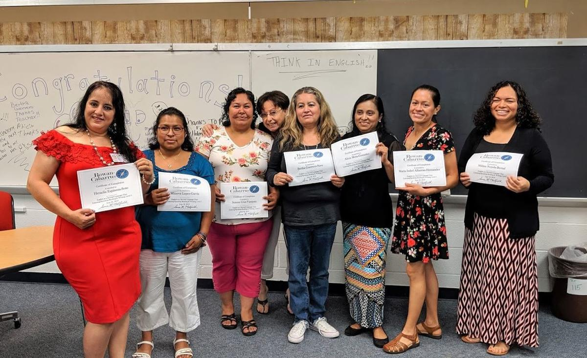 Language graduation at Fred L. Wilson