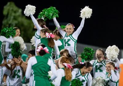 A.L. Brown cheerleaders