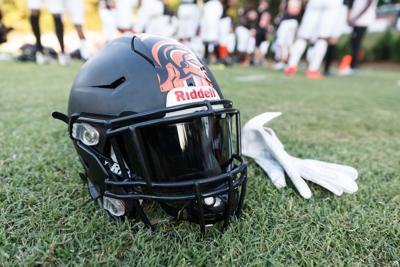 The Northwest Cabarrus Trojans defeat Hickory Ridge Ragin' Bulls to remain undefeated 34-29.