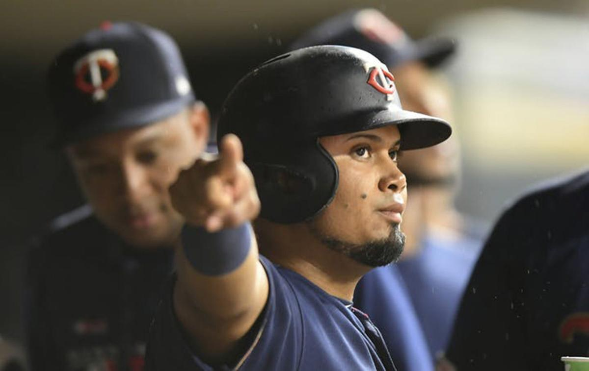 The Minnesota Twins' Luis Arraez.