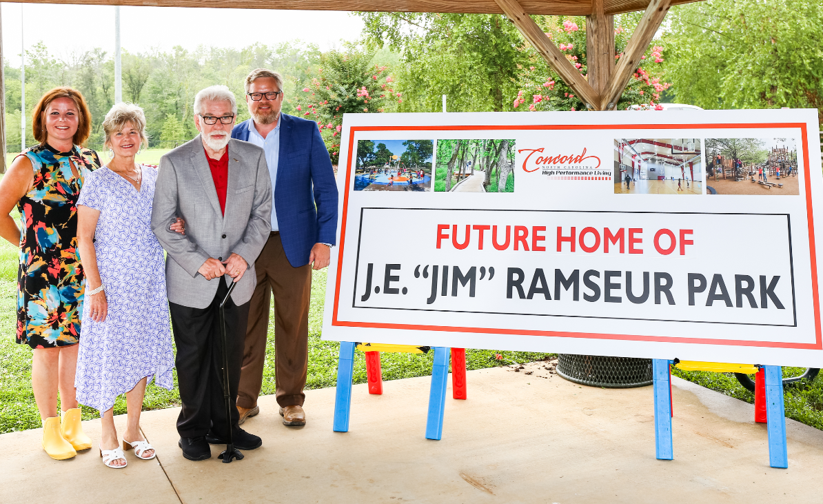 Jim Ramseur with Family