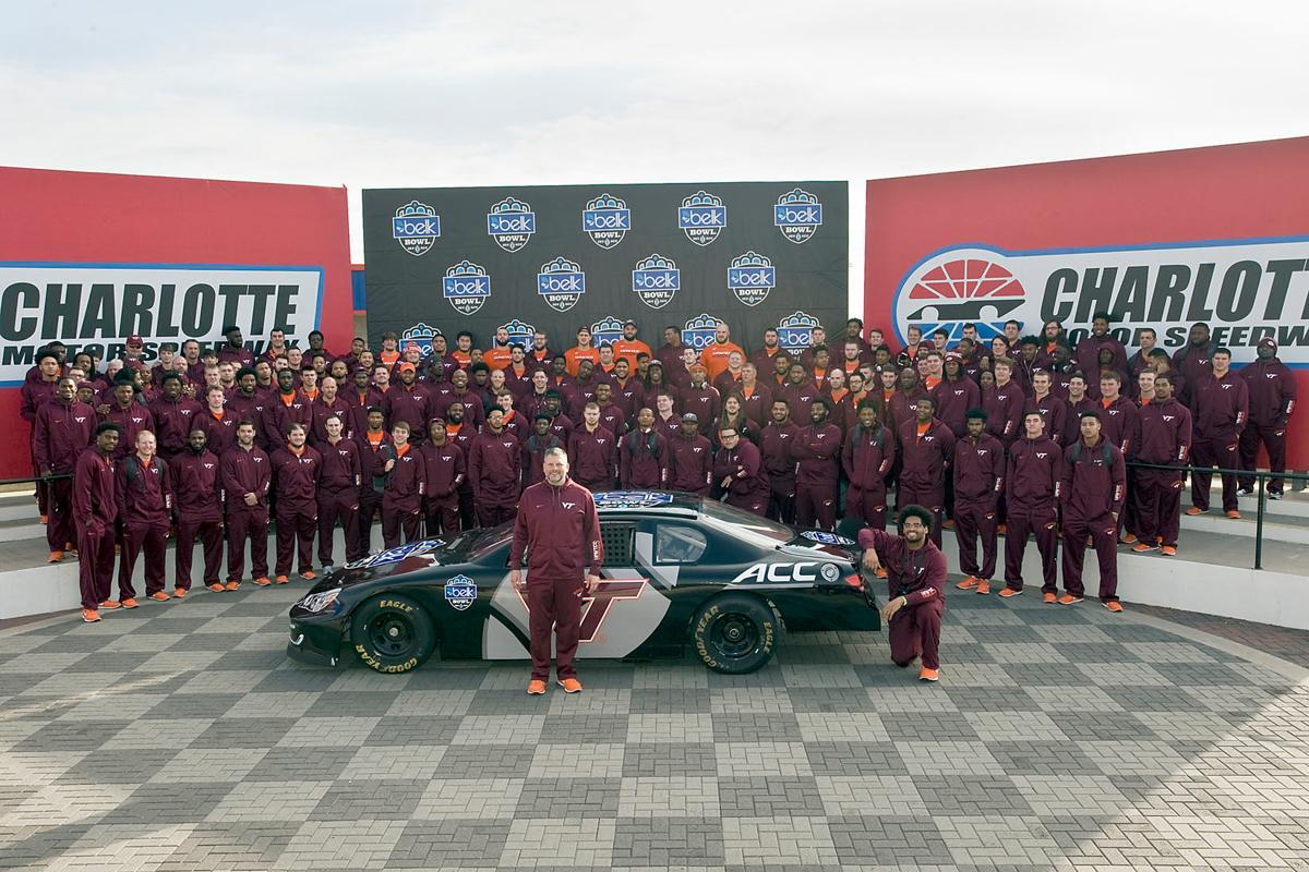 Belk bowl racing local news for Ride along charlotte motor speedway