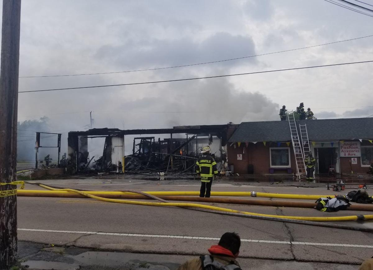 Building destroyed in Kannapolis fire