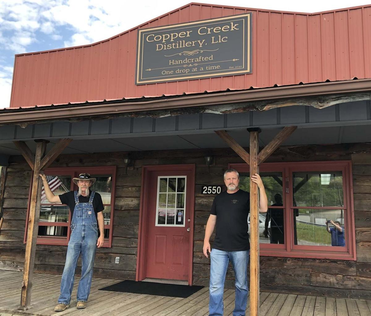 Copper Creek Distillery making moonshine in Marion