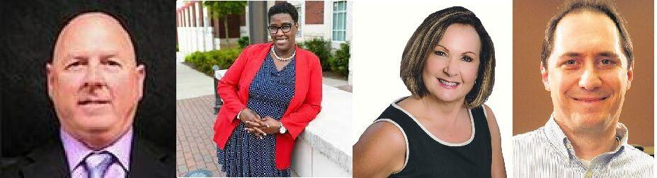 Newly elected school board members