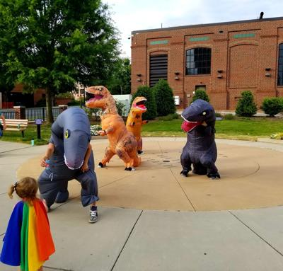Dinosaurs in Concord