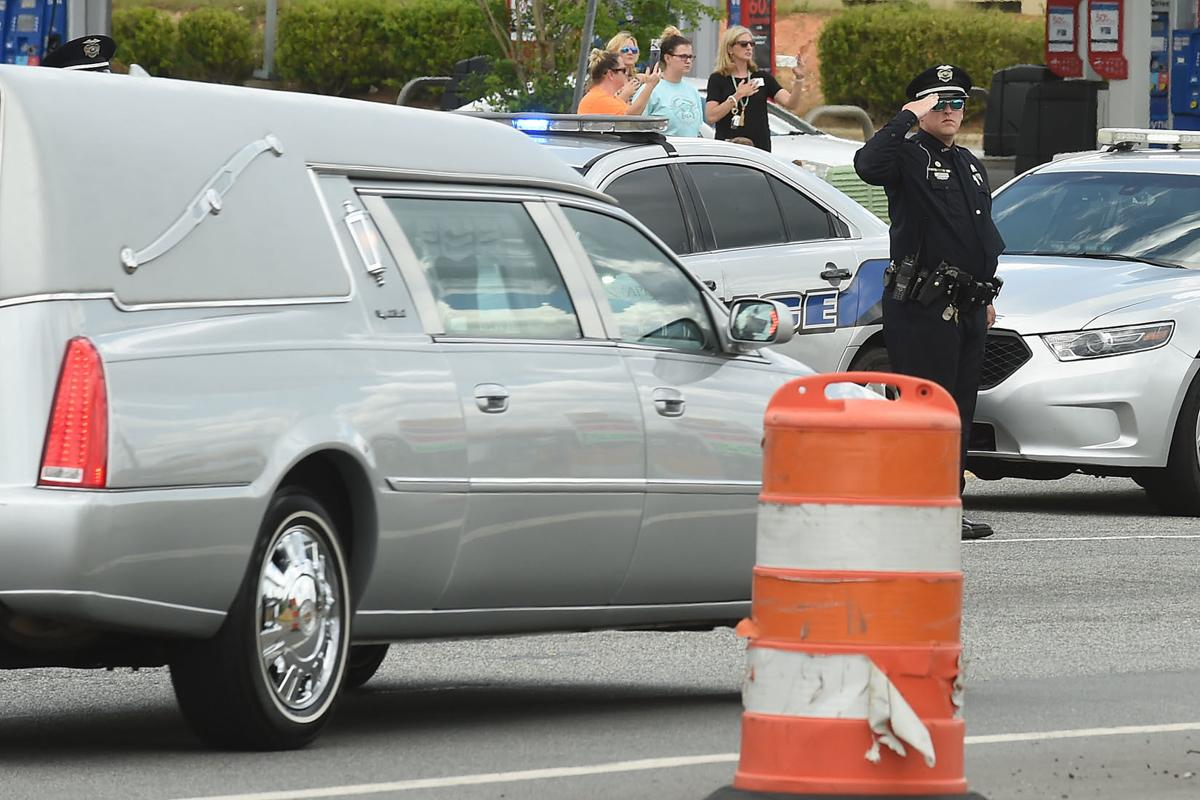Officer Sheldon Processional