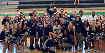 Hickory Ridge girls basketball