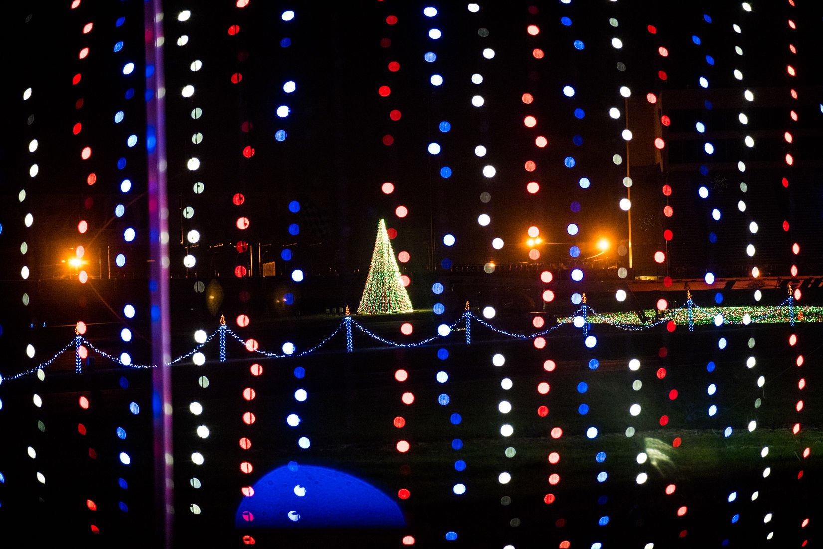 Charlotte Motor Speedway Christmas lights display kicks off ...