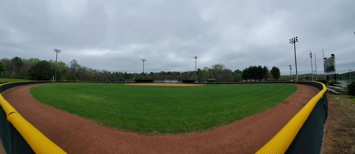 Central Cabarrus softball field
