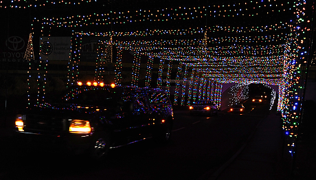 Cabarrus christmas bells are ringing community for Charlotte motor speedway christmas lights nc