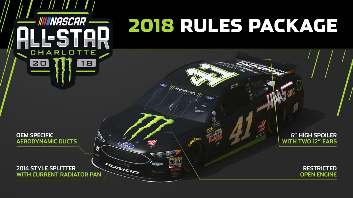 Nascar s aero package for all star race at charlotte motor for Charlotte motor speedway hotel packages
