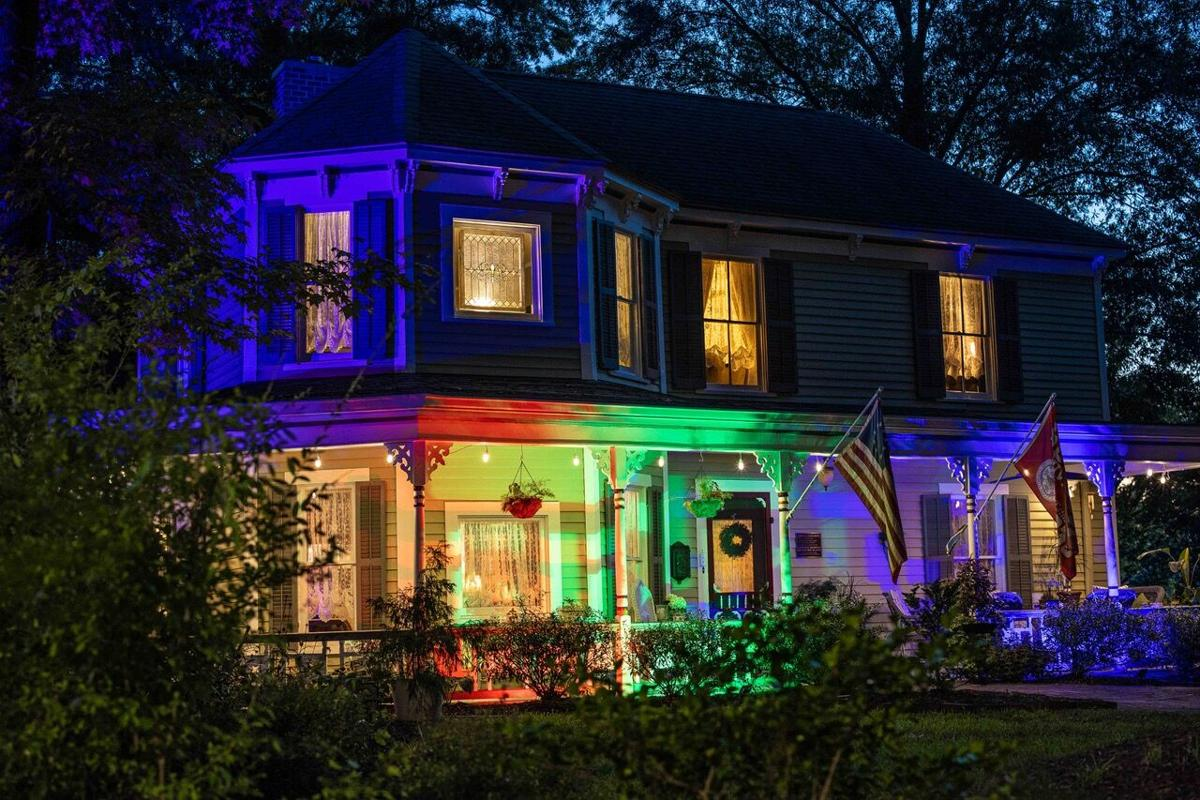 Colorful Lights Historic Concord Walking Tour