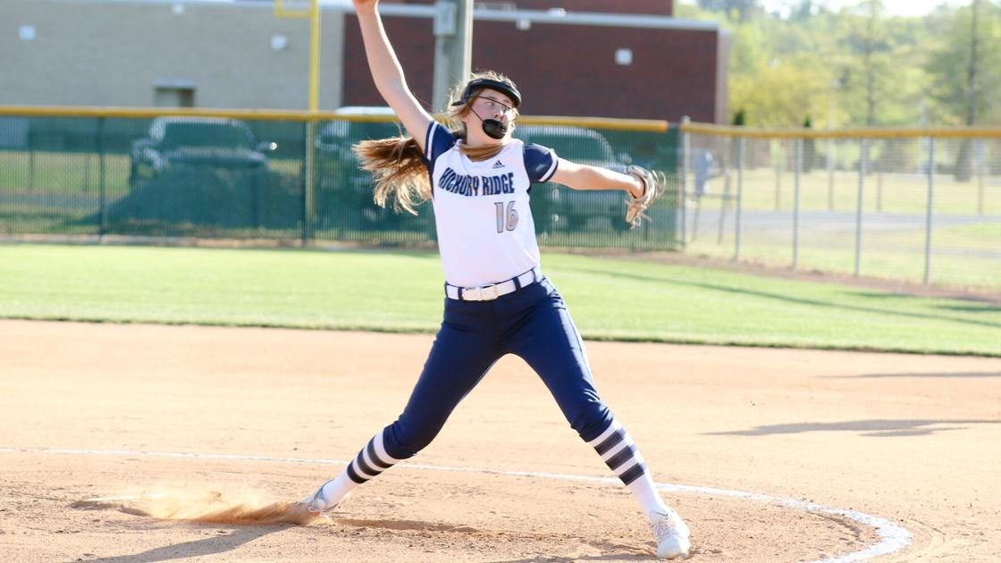 HIGH SCHOOL SOFTBALL: Dew, Bechtol combine for no-hitter as Hickory Ridge overpowers Myers Park