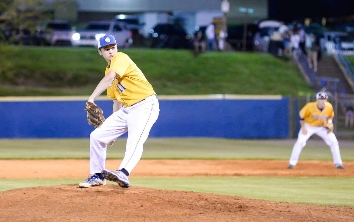 Thursday night baseball action,