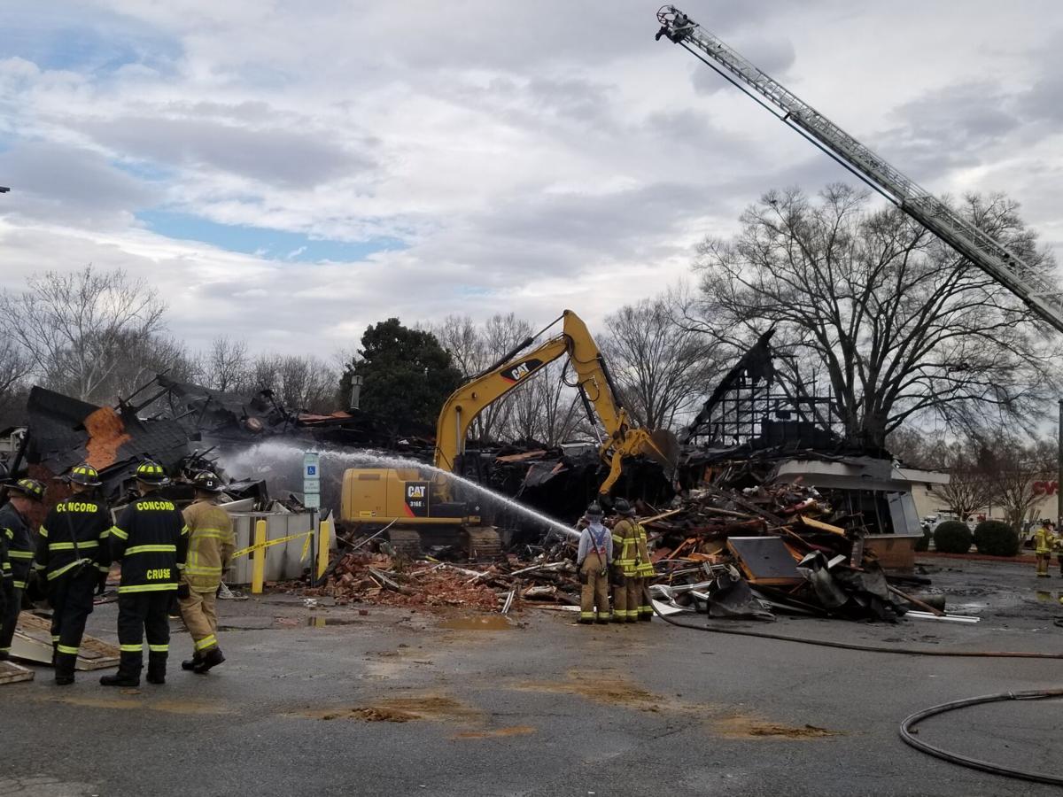 Concord Diner Fire