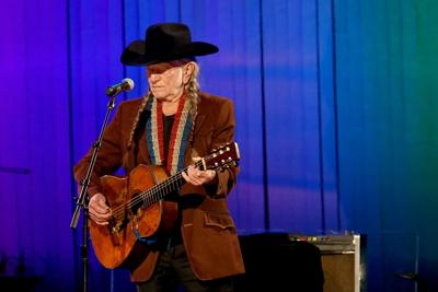 Willie Nelson performs onstage during the 53rd annual CMA Awards at the Bridgestone Arena on November 13, 2019, in Nashville, Tennessee.