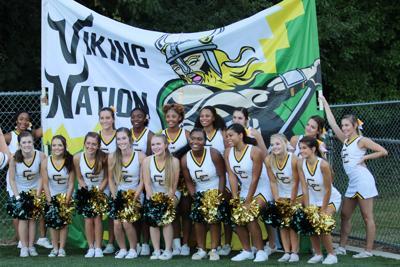 Central Cabarrus cheerleaders