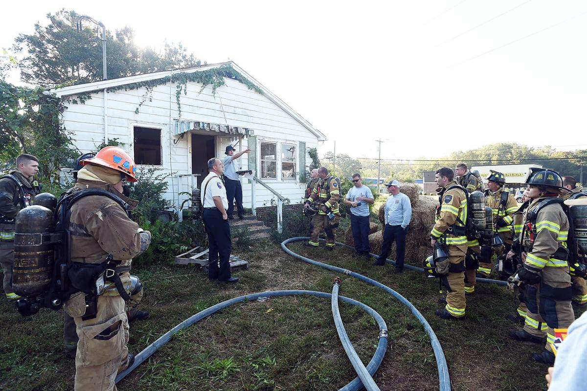 Concord City Fire Department Live-Fire Training Exercise
