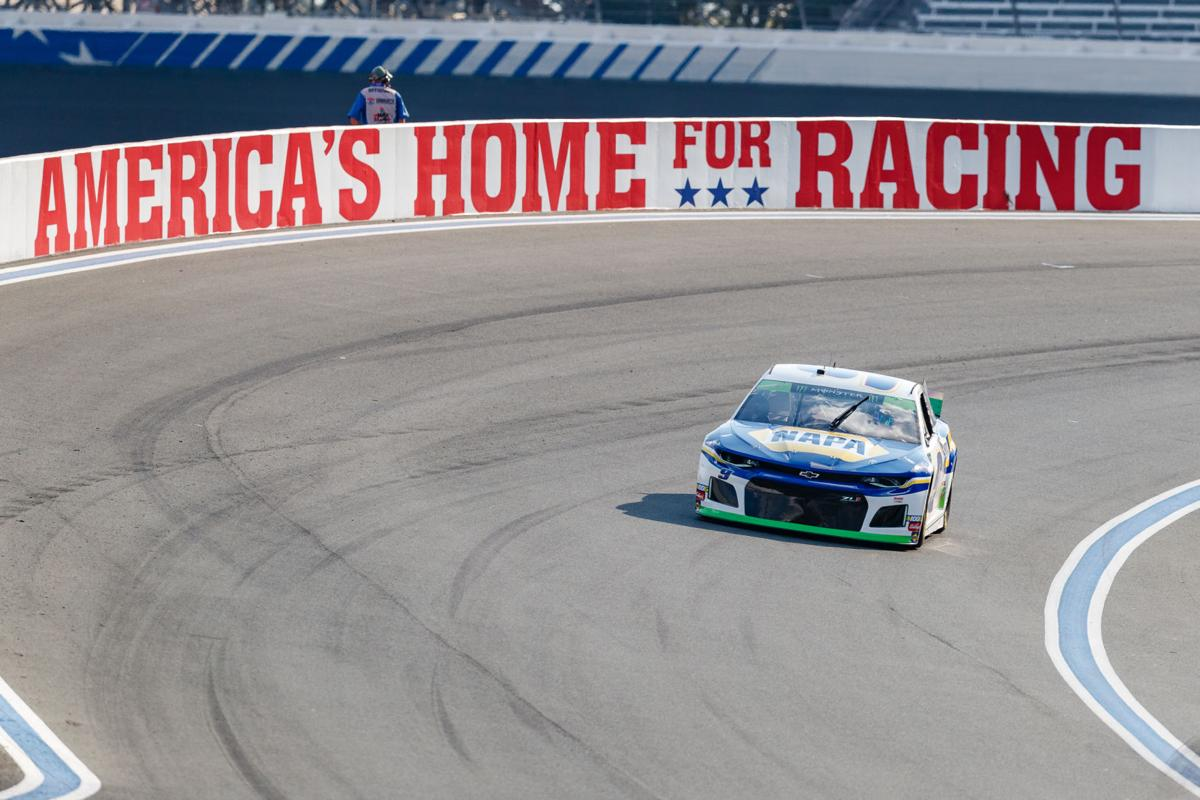 Friday at the NASCAR ROVAL 400.