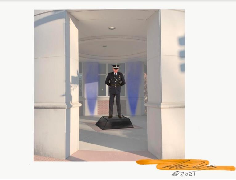 CPD Fallen Officer Memorial Idea
