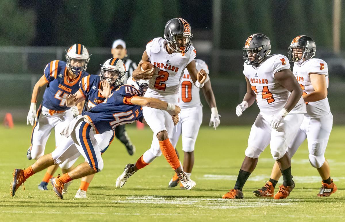 North Carolina High School football action Friday night