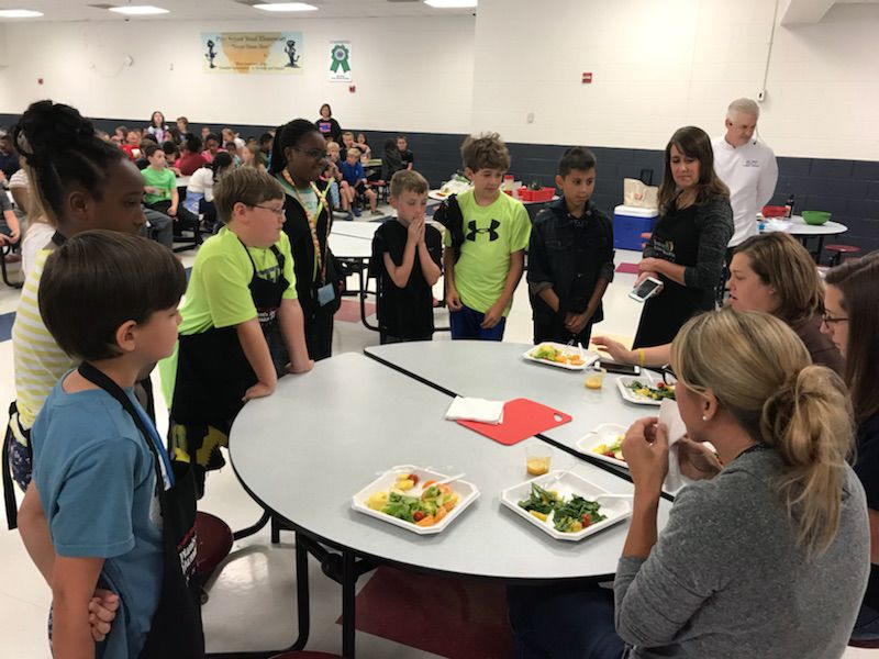 Elementary cook-off