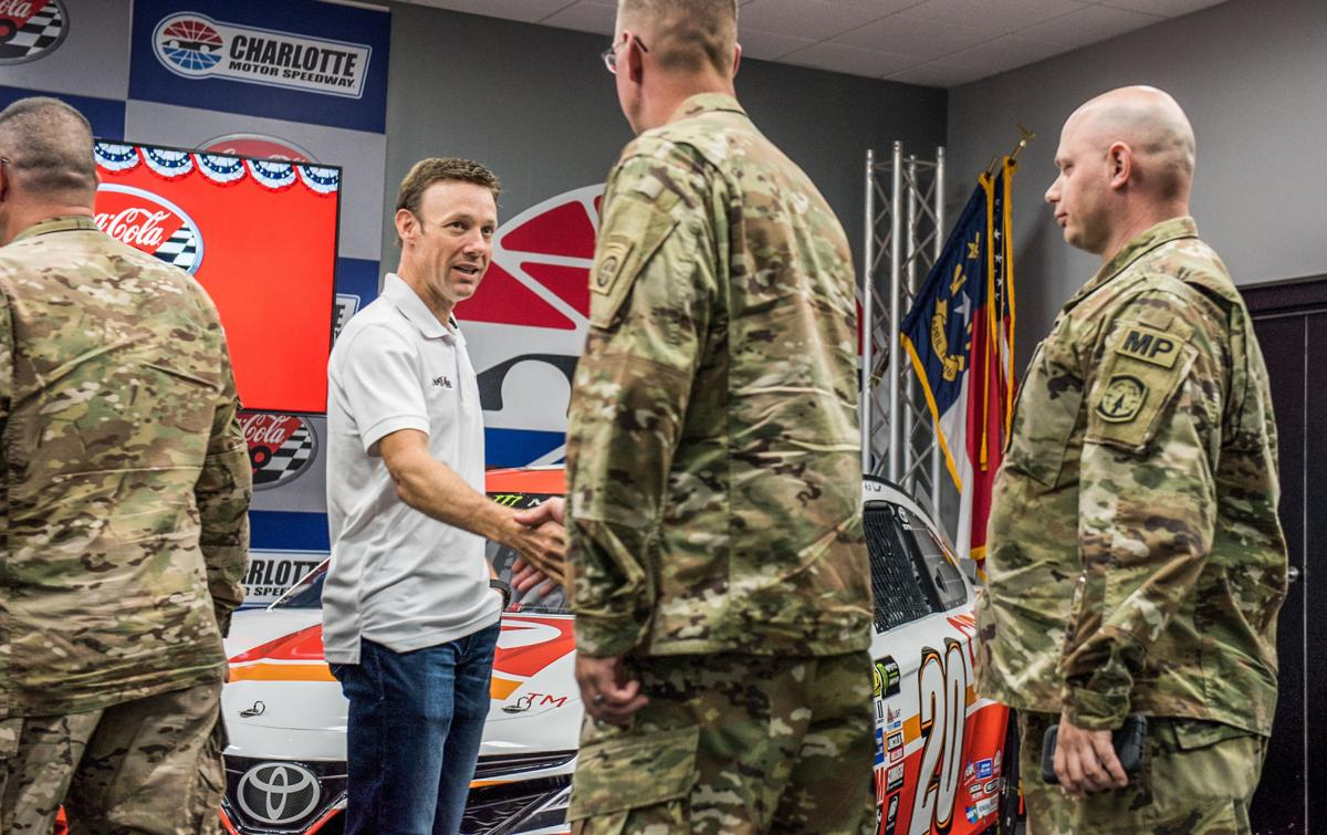 Coca-Cola 600 and the military
