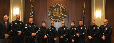 Concord Police promotions