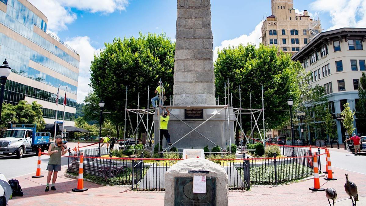 Asheville monument