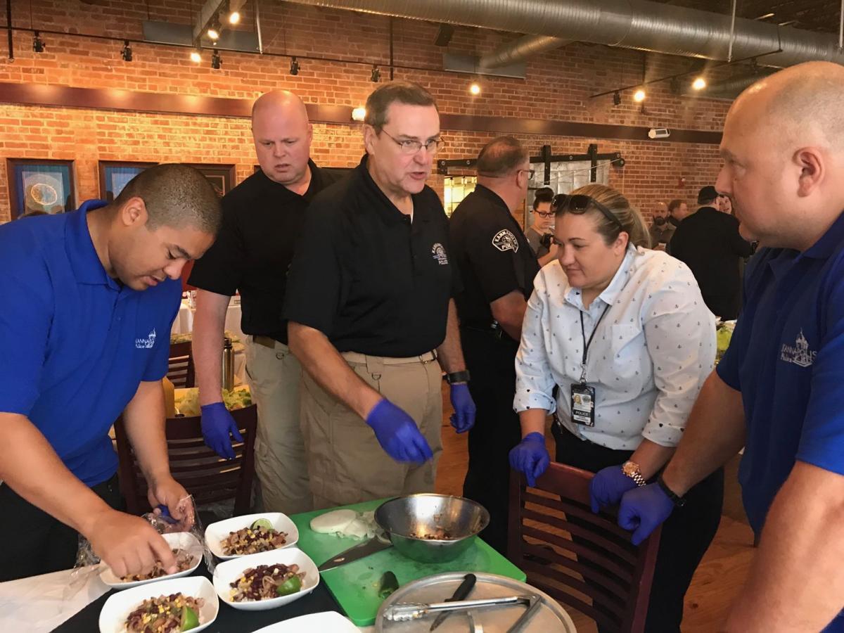 Law enforcement cook off
