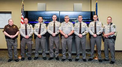 County honors 22 deputies