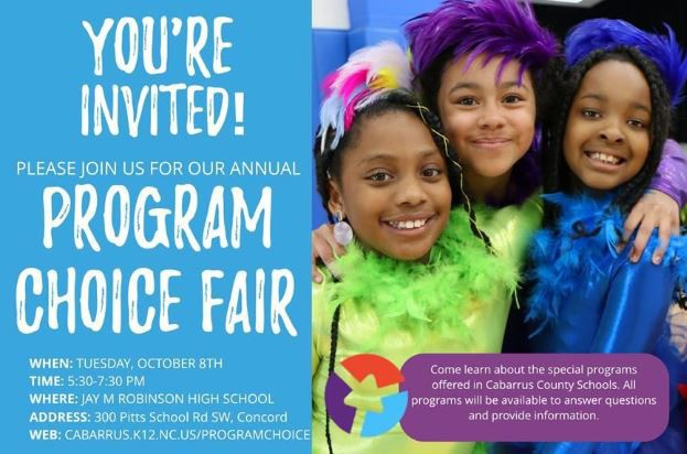 CCS to hold Program Choice Fair